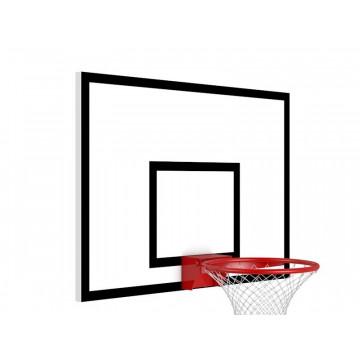 Баскетбольный щит 900х680 мм металлический
