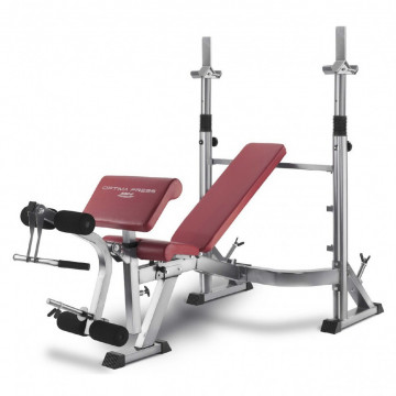 Многопозиционная скамья с настройками для различных упражнений