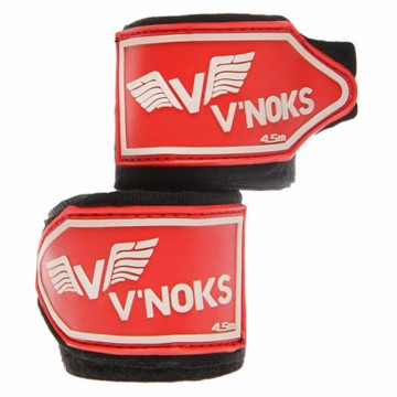 Бинты боксерские V`NOKS 4,5M Black (40222)