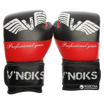 Боксерские перчатки V`NOKS Potente Red (10-16 oz)