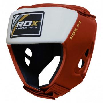 Боксерский шлем для соревнований RDX Red M.L