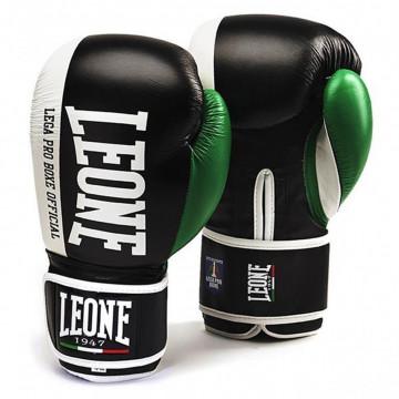 Боксерскеие перчатки LEONE Contender Black (10-16 oz)